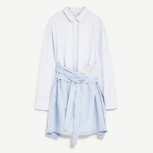 Zara | Wrap Shirtdress